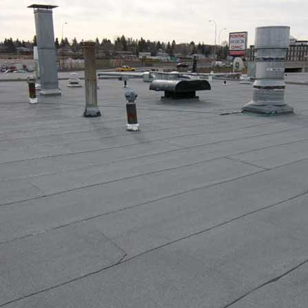 Modified Bitumen - New Roof