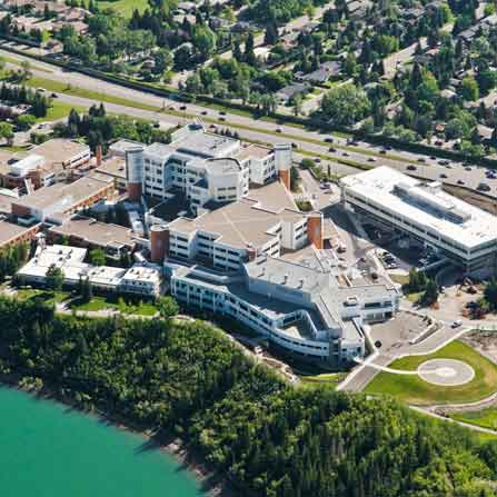 Peddie Roofing Project - Rockyview Hospital