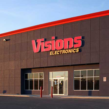 Peddie Roofing Project - Visions Electronics, Red Deer, AB